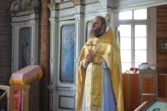 Богослужение в Лебенишкяй