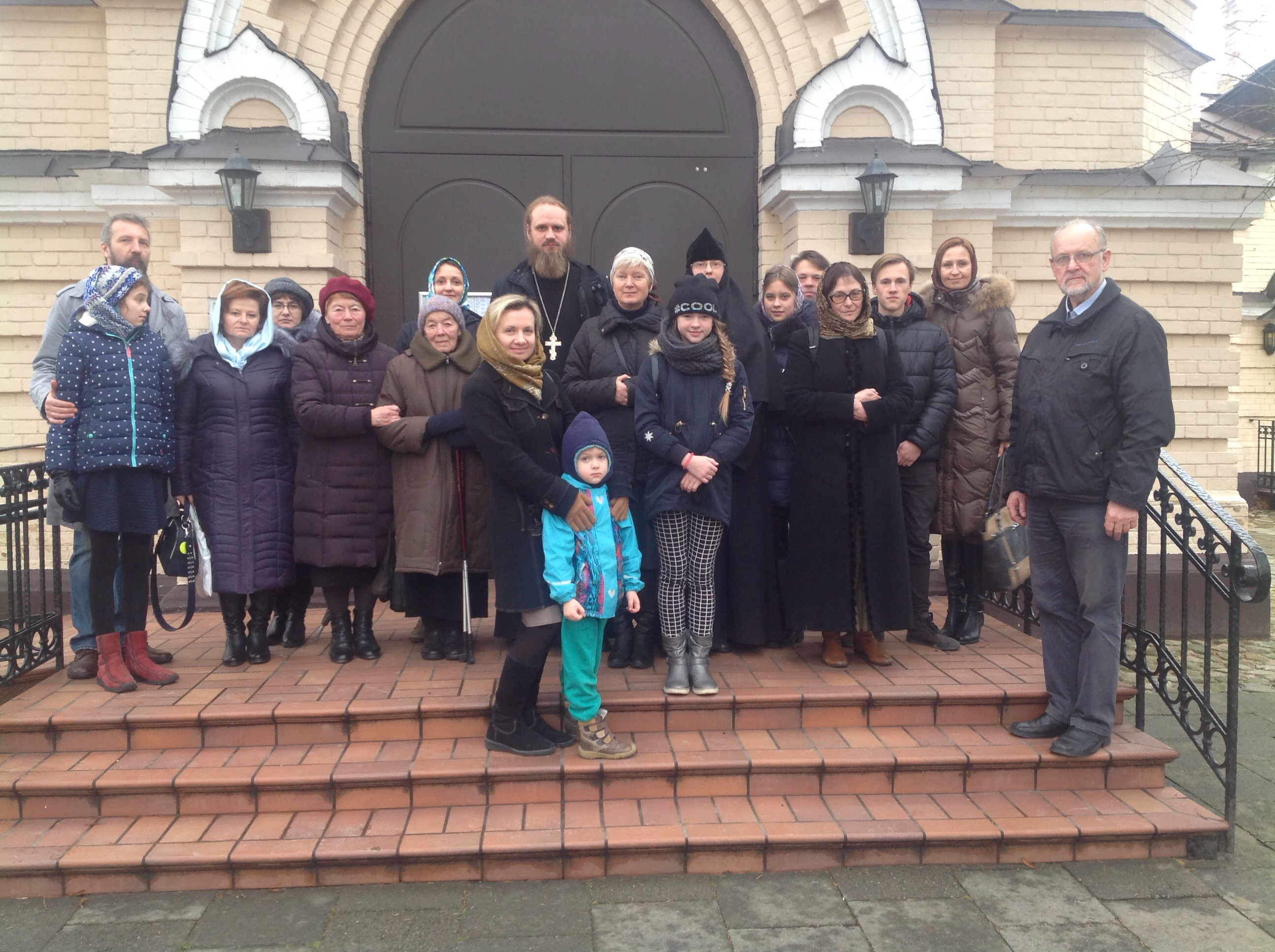 Посещение виленского Марие-Магдалинского женского монастыря