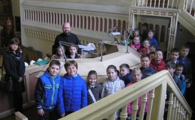 Встреча с младшими учениками