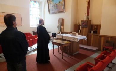 Молебен в Лукишкес