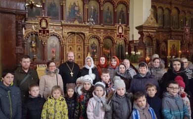 Гости из Калининградской епархии