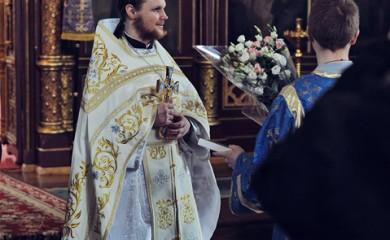 Рукоположение в сан пресвитера диакона Михаила Синкевича