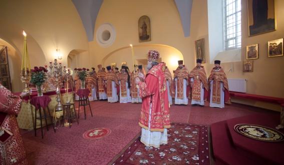 Соборное богослужение духовенства епархии